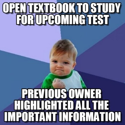 This is how to get discounts on textbooks!