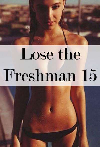Your first year has come and gone, and now you feel like it might be time to lose the Freshman 15. Check out these tips to get you started!