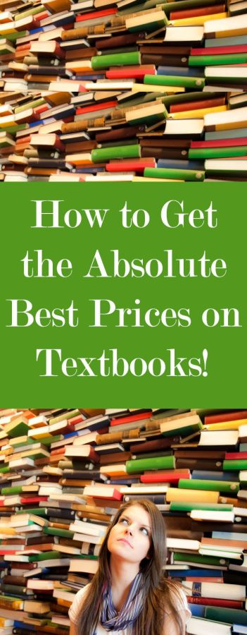 How to get the best prices on textbooks!