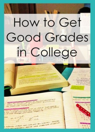 How to Get Good Grades in College