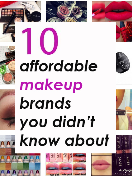 10 affordable makeup brands you didn 39 t know about society19 for What is cosmetics made of