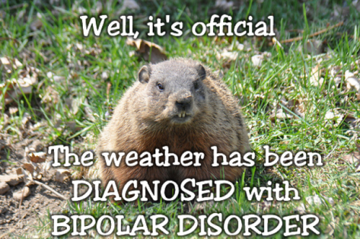 How to dress for bipolar weather