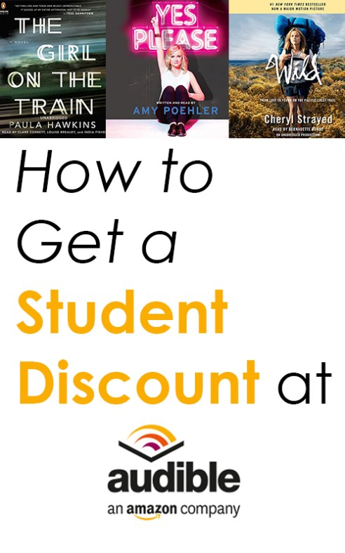 d6490b5d Audible Limited-Time Crazy Generous Student Discount - Society19