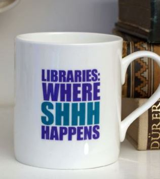 Gifts for Book Lovers - library mug