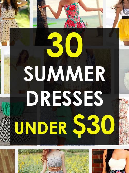 30 Summer Dresses Under $30