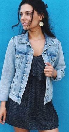 Summer Fahion - Denim Jacket