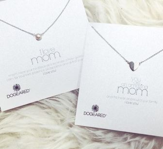 The Perfect Mother's Day Gifts - Dogeared necklace