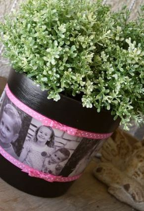 The Perfect Mother's Day Gifts - Photo planter