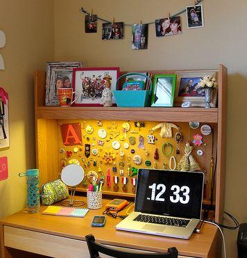 Dorm Desk Corkboard