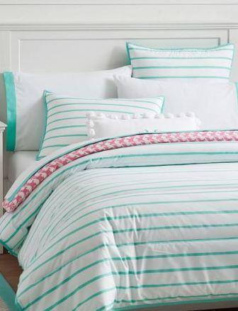 Market Stripe Comforter + Sham