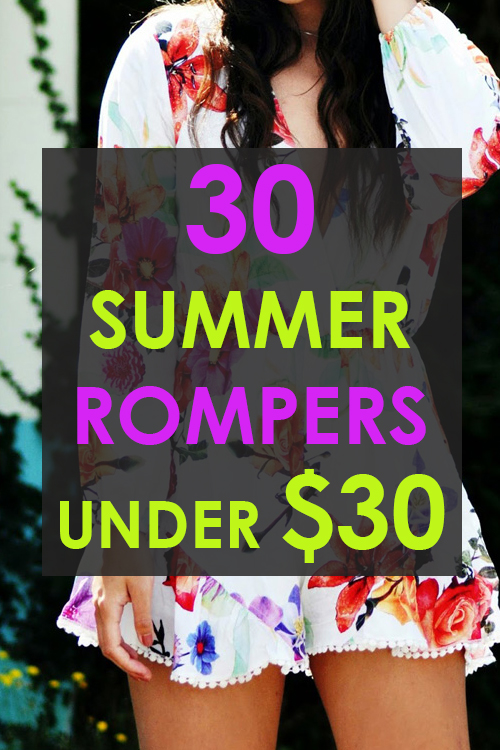 30 Affordable Rompers under $30