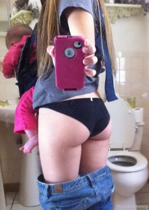 Selfies gone wrong - mom of the year