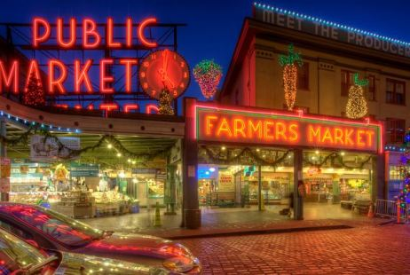 The best US cities to visit in your 20s - Pike Place