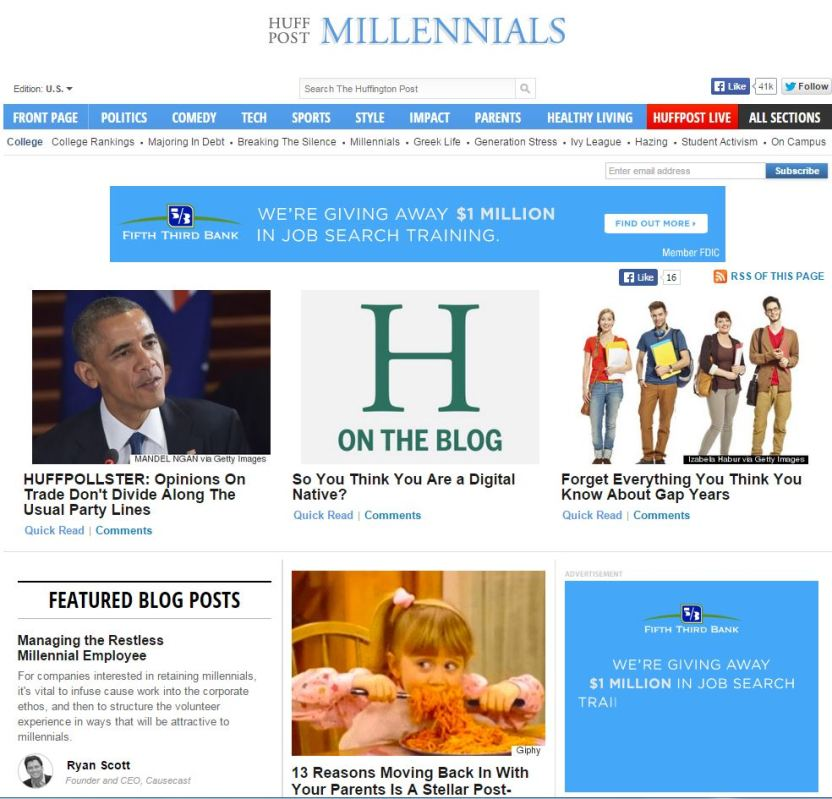 Huffington Post College