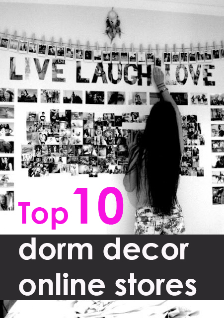 Top 10 places to shop for dorm decor society19 for Online decor stores