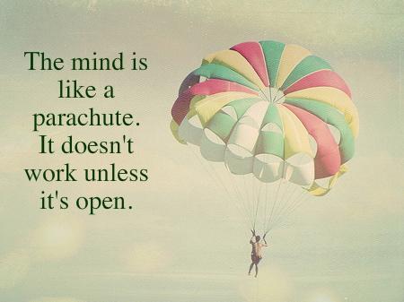 An open mind will make you better