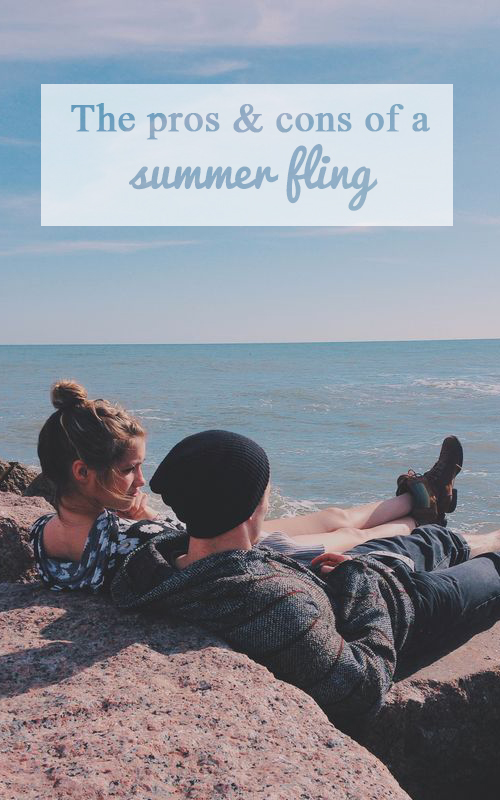 the prons and cons of a summer fling pin