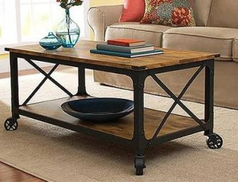 What You'll Need in Your First Apartment: walmart better homes and gardens rustic country coffee table