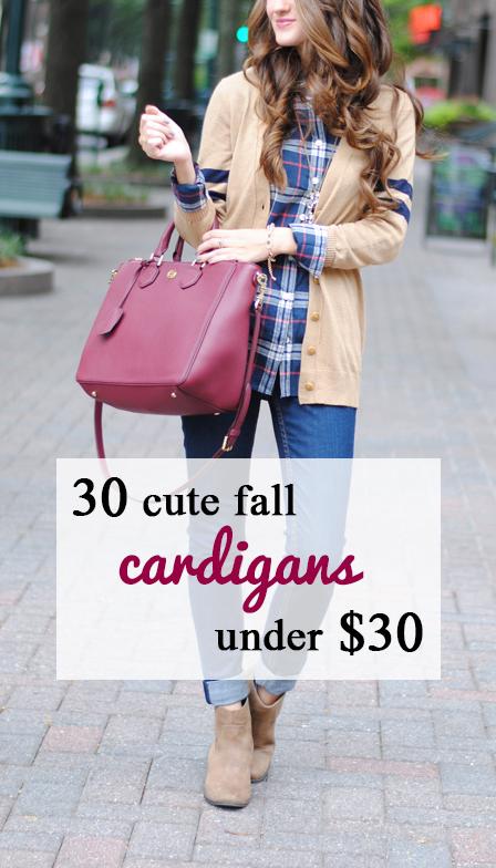 30 cute cardigans under $30