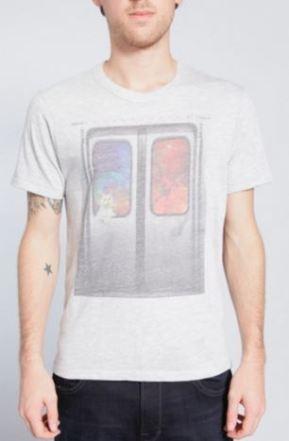 Subway Scene - Men's Graphic T-Shirt