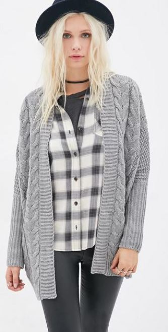 Casual cardigans are a go to staple in my fall wardrobe!