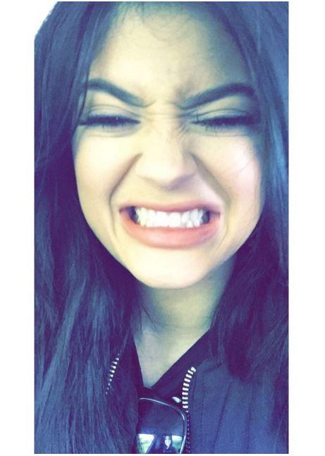 Kylie Jenner's snapchats.