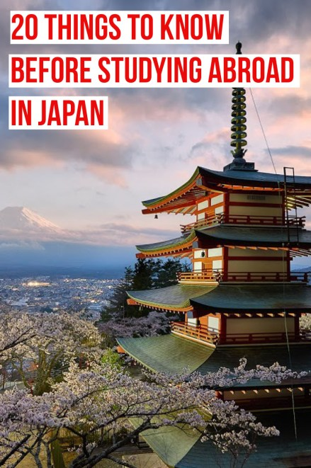 This is what you need to know before studying abroad in Japan