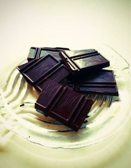 In small doses, dark chocolate is healthy.