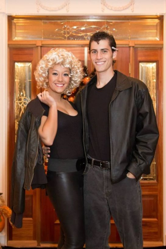 Danny and Sandy is a classic couples Halloween costume idea!