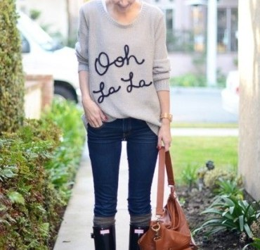 style tips, Style Tips to Look Cute on Rainy Days