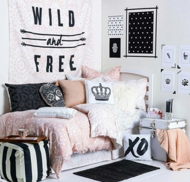 Decorating your dorm room may be harder than anticipated; so these are a few of the coolest dorm rooms on Instagram to give you a little inspiration!