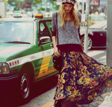 maxi skirt, How To Style A Maxi Skirt In The Fall
