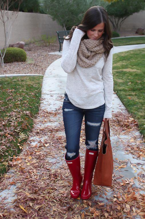 Rainy days call for rain boots!