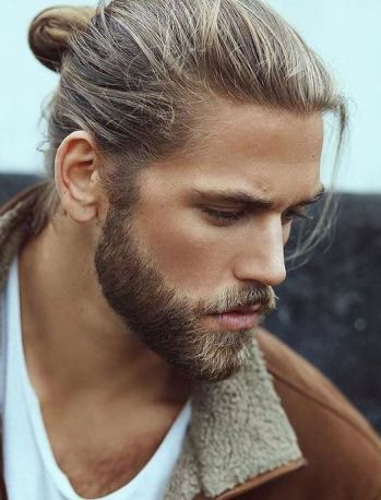 His hair and his beard are both amazing.