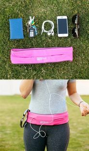 No more worries about things falling out when you work out