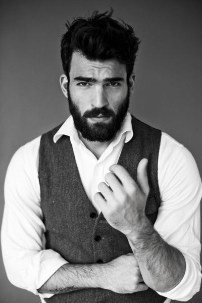beards are attractive