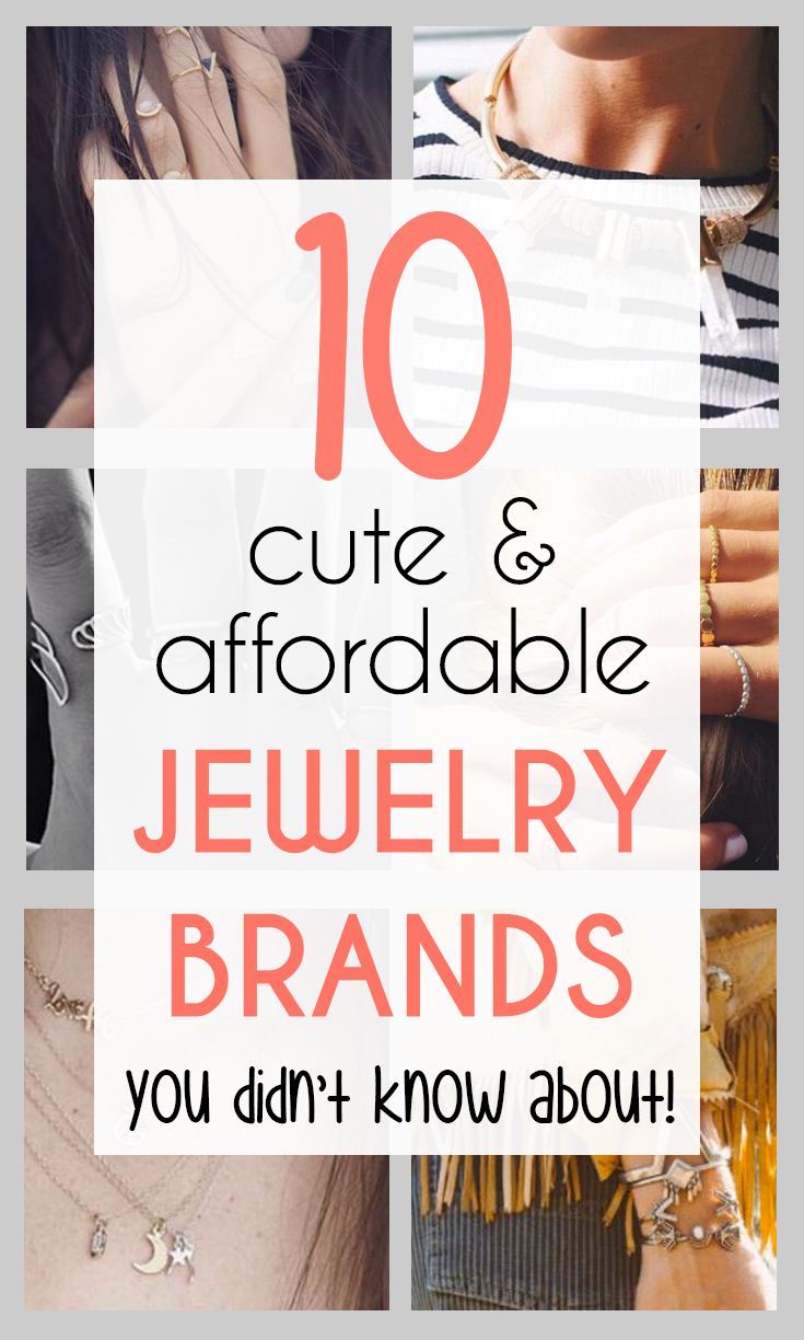 Cute and Affordable Jewelry Brands