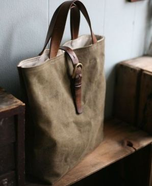 This suede tote is so cute!