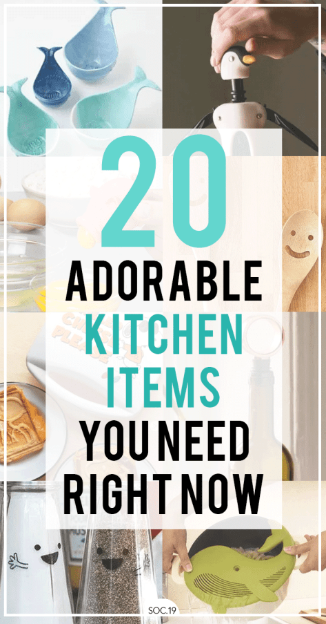 20 Adorable Kitchen Items You Need Right Now