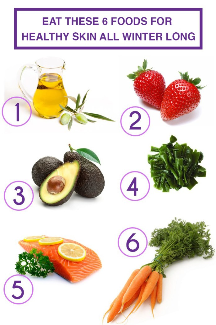 Eat these foods for healthy skin, hair and nails!