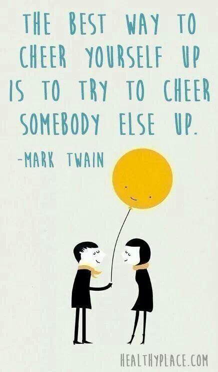Volunteer and make someone else happy