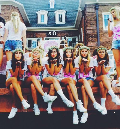 Sorority girls really become your sisters
