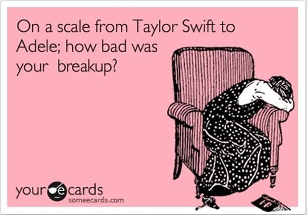 Make a break up playlist