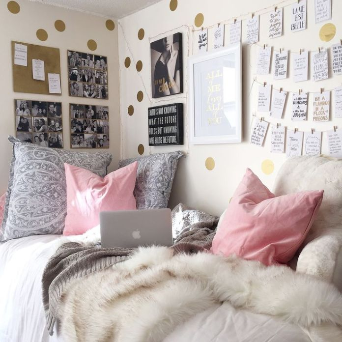 decorate your room so it's comfy