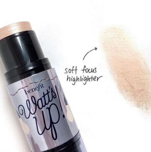 There are better makeup dupes for the Benefit Watt's Up Cream Highlighter!