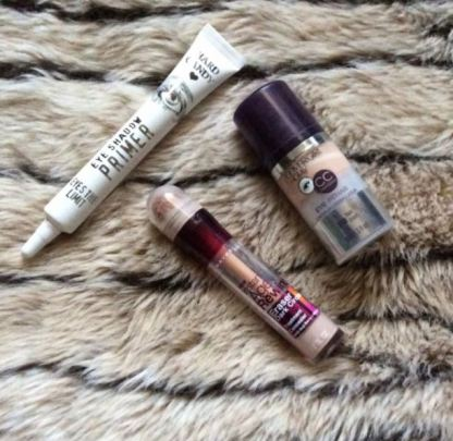 The Hard Candy Eyeshadow Primers are great makeup dupes!