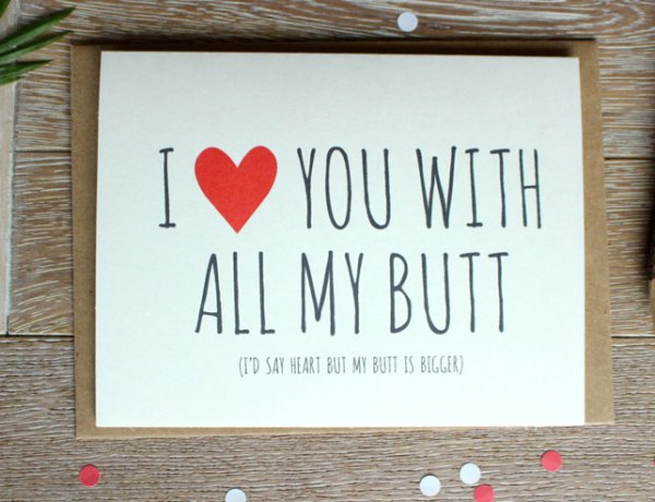 Hilariously Awesome Valentine's Day Cards