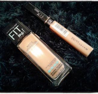 The Maybelline Fit Me foundations are great makeup dupes!