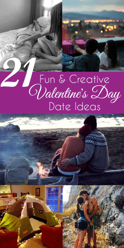Check out these fun and creative Valentine's Day date ideas!