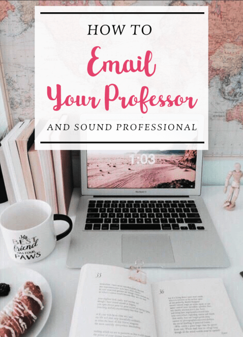 How to email your professor and sound professional